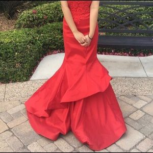 Faviana Red 7970 Dress - Gown